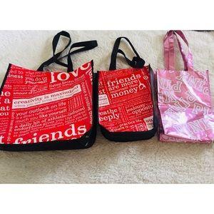 🐠Lululemon and Pink reusable bags